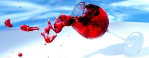 Christmas Wine Spill
