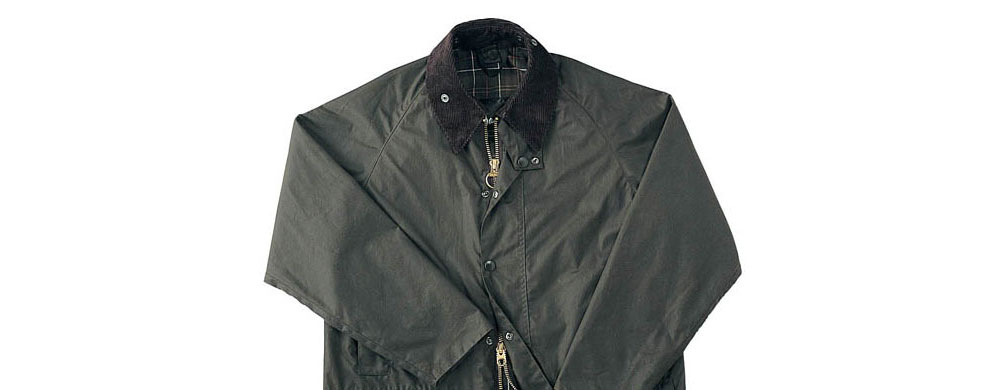 Dark Colour Waxed Jacket