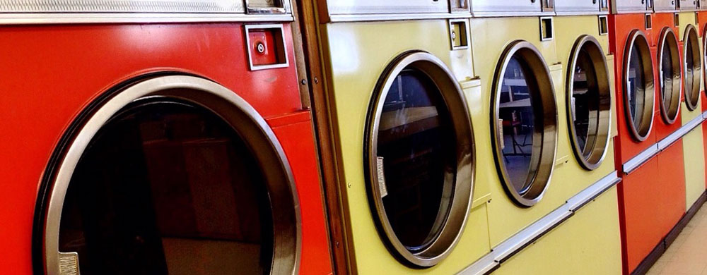 Washing Machines In Laundromat