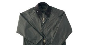 Dark Waxed Jacket