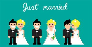 Wedding Themed Cartoon