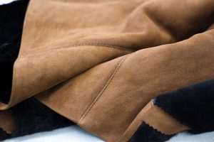 Suede leather and wax jacket cleaning